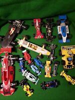 Job Lot 18x vatious diecast F1 Formula One Cars Ferrari lotus motorsport Model 1