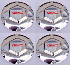 "4pcs for GMC Envoy XL XUV CHROME Wheel Center Hub Caps 17"" 2002-2007 9593396"