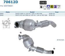 Pot catalytique Bmw 330TD XD 4x4 2926cc 135Kw/184cv M57 E46 8/99>03 antér manuel