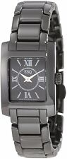 New ESQ by Movado Woman's Black Ceramic Venture Watch 07101386