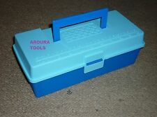 TOOL BOX PLASTIC WITH REMOVABLE DIVIDER TRAY - NEW