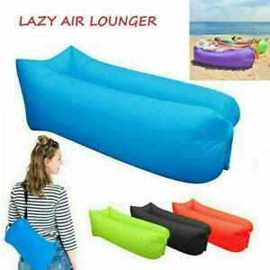 Aufblasbares Luftsofa Air Lounger Sitzsack  Sofa Campen Garten Strand Schwimmen