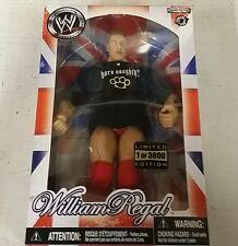 "WWE JAKKS WILLIAM REGAL ""UK"" INTERNET EXCLUSIVE FIGURE BRAND NEW"