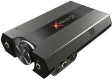 Creative BlasterX G6 (externe 7.1 HD USB Dolby Digital Soundkarte grau)