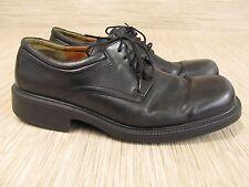 Ecco City Black Leather Shoes Men's Size US 13 EUR 46 Lace Up Formal Oxfords