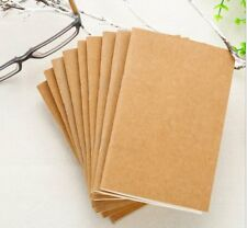 Refillable Paper Traveler's Notebook Filler Papers Journal Dairy Inserts papers