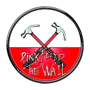 Pink Floyd The Wall Hammers Logo Official Pin Badge One Size