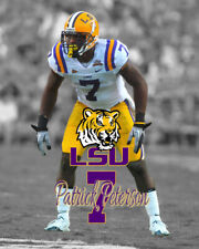 LSU Tigers PATRICK PETERSON Unsigned Spotlight Photo 8x10 #1