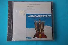 "PAUL MC CARTENEY COLLECTION ""WINGS GREATEST"" PARLOPHONE DIGITAL REMASTERS 1993 S"