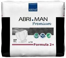 Abena Abri Man Premium Formula 2 Einlagen - 12 Packungen / 12 x 14 = 168 Stück