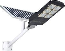 LAMPIONE LED + PANNELLO CON SOLARE STAFFA E TELECOMANDO 500w IP66 FARO STRADALE