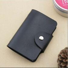 New Cute Womens Wallet Holder Pocket Business ID Card Credit Bag Case Black #6