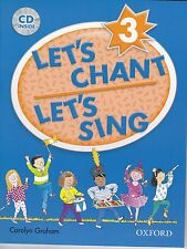 Oxford LET'S CHANT LET'S SING 3 / CAROLYN GRAHAM with CD SONGS for CHILDREN @New