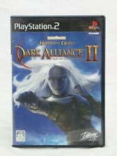 Baldur's Gate Dark Alliance 2 PS2 Japan Import Complete in Box NA Seller