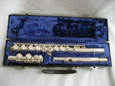 Used Blessing B101 Flute Student skill level w/perfect carry case, w/warranty