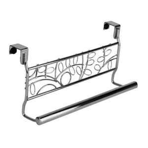 Evelots Over Cabinet Towel Bar Holders-Assorted Styles and Quantities