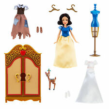 Disney Store Snow White Wardrobe Doll Play Set