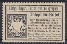 Bavaria TB 22 ( ) Telephone Billet, Old Germany
