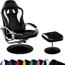 Racing TV Sessel Relax Racer GT mit Fußhocker, Gaming Fernsehsessel Relaxsessel