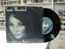 "Sara Montiel 7 "" Spanisch Tu Name Era Mexico / Negrito Schöner 1988"