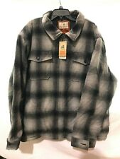 NEW Legendary Whitetails The Outdoorsman Jacket Ombre Plaid Style 6319 Size 3XL