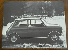 1967 Austin Cooper S 1275 Single Page Flyer Sales Brochure Catalog Spec Sheet