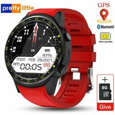 GPS Smart Watch Men SIM Card Camera F1 Smartwatches Heart rate Sport android iOS