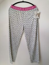 Penguin Lounge Pants Tracksuit Bottoms Bnwt Size M nightwear