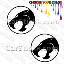 "2 x 5"" Thundercats Cats car window vinyl sticker decal"