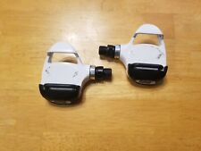 Time Road Bicycle Pedals 9/16 Road Bike White