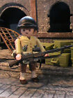 PLAYMOBIL CUSTOM US SUBOFICIAL 2NTH INFANTRY DIVISION (1942-1943) REF-0155 BIS