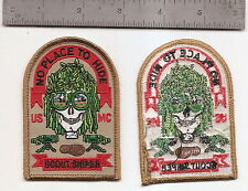 "#188  USMC SCOUT SNIPER PATCH ""NO PLACE TO HIDE"""