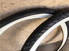 SALE! 2x DURO White Wall Tires 26x2.125 SLICK Style Beach Cruiser Bike