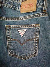 Hombres Denim Jeans Guess Calce Recto w28 l32