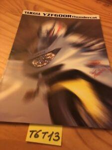 Yamaha YZF600R Thundercat YZF Catálogo Folleto Catálogo Catalog Publicidad