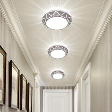 Lámpara de Techo de luz LED de Acrílico Moderno Accesorio Corredor Pasillo Lámpara Colgante