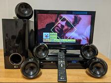 LG HT304SU 5.1 Surround Sound DVD Home Cinema / Theatre System + Remote 1080p HD