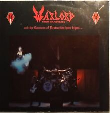 Warlord – and the Cannons of destruction have begun (vinile roadruner 1984) RAR!
