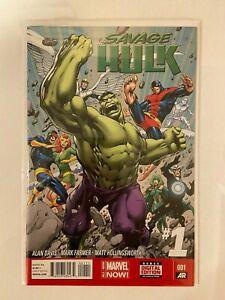 Savage Hulk #1 (2014) NM Key