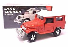 JAPAN TOMY TOMICA TOYOTA LAND CRUISER FJ40V RED WHITE CAR 1/60 DIECAST RARE
