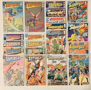 SUPERGIRL (1982) Near Complete High Grade Set #1-6,8-21 DC COMICS VF/NM