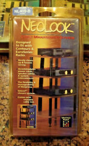 Vantage Point Neolock NL409-B Wire Managment System for Audio Racks  - NOS