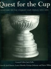 HOCKEY HISTORY QUEST FOR THE STANLEY CUP 1893-2001 BRAND NEW HC BOOK