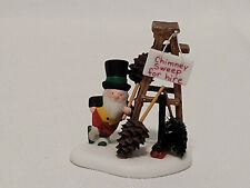 """Dept 56 North Pole """"Chimney Sweep For Hire!� #56.56843"""