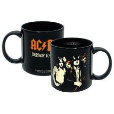 AC/DC Collectible: Angus Malcolm Young Band Figures Highway to Hell LP 20 oz Mug