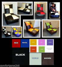 Checked Modern Bean Bag & Inflatable Furniture