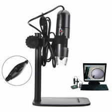 8LED 1000X 10MP USB Digital Microscope Endoscope Magnifier Camera w/ Stand Gift