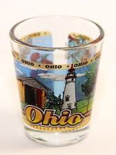 OHIO STATE WRAPAROUND SHOT GLASS SHOTGLASS
