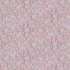 Springs Primrose Lane by Mia DIGITALLY PRINTED 62663 Packed Hyacin BTY Cotton
