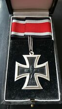 ✚7529✚ German Iron Cross Knight Cross RK medal post WW2 1957 pattern CASED ST&L